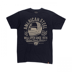 Roland Sands Design T-Shirt - American Steel Black