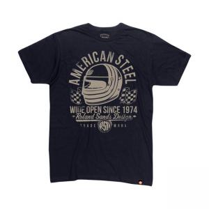 Roland Sands Design T-Shirt - American Steel Schwarz