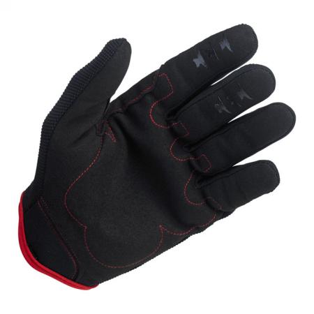 Biltwell Handschuhe - Moto Schwarz/Rot