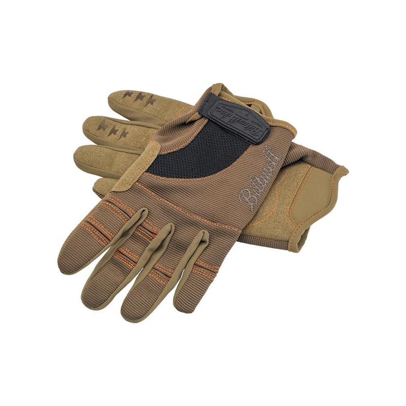 Biltwell Handschuhe - Moto Braun/Orange