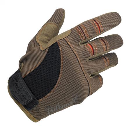 Biltwell Gloves - Moto Brown/Orange