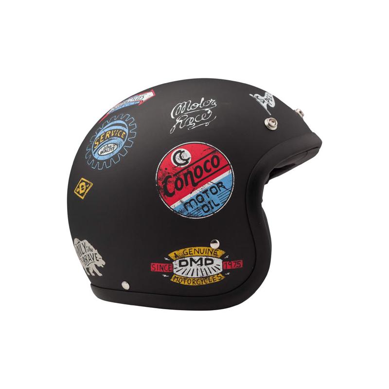 DMD Helm Vintage - Sticky mit ECE