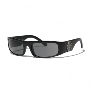 West Coast Choppers Glasses - Original Cross Black