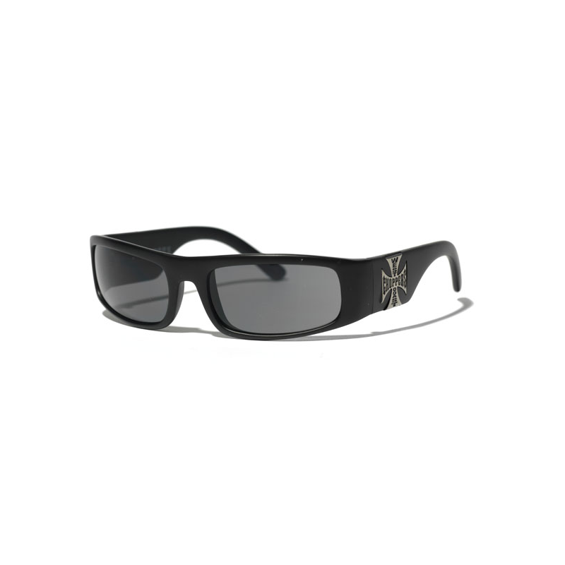 West Coast Choppers Brille - Original Cross Black