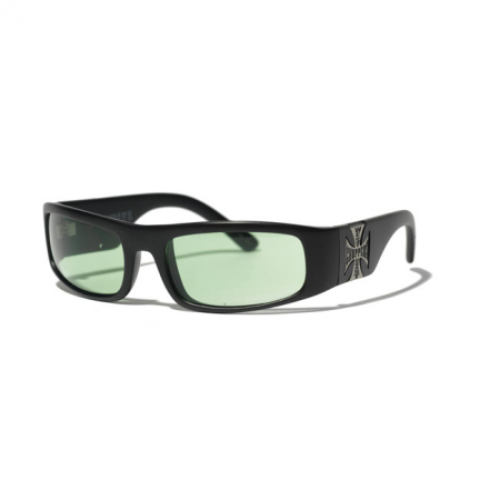 West Coast Choppers Brille - Original Cross Grün