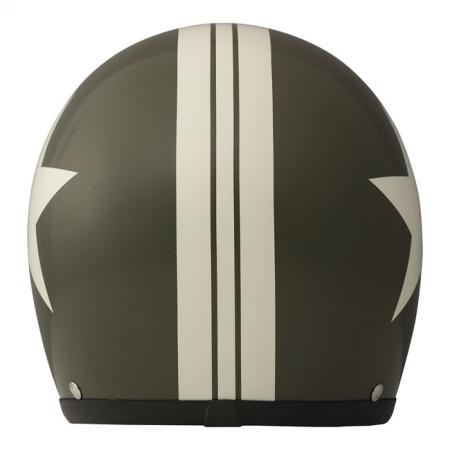 DMD Helm Vintage - Star mit ECE Grün