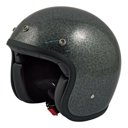 DMD Helmet Vintage - Glitter with ECE Black