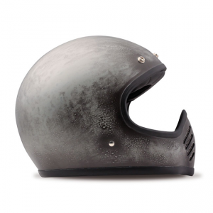 DMD Helmet Seventy Five - Grey Carbon with ECE
