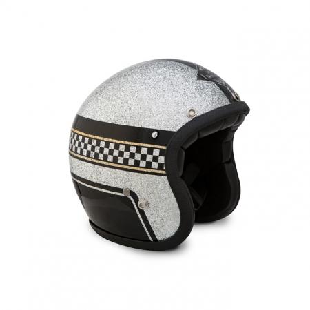 70s Helmet Superflake - Racing Dpt. 2016 with ECE