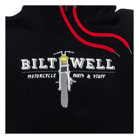 Biltwell Hoodie - Parts Schwarz