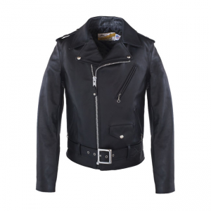 Schott NYC Leather Jacket - One Star Perfecto Black