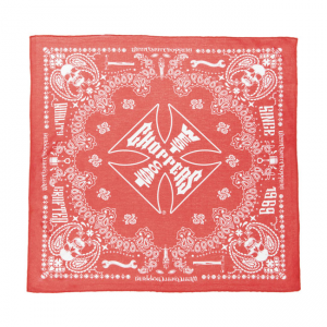 West Coast Choppers Bandana - Handgefertigt Rot
