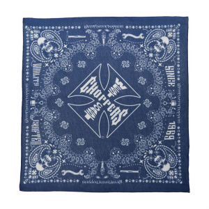 West Coast Choppers Bandana - Handgefertigt Blau