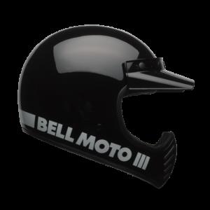 Bell Helmet Moto-3 - Classic Black