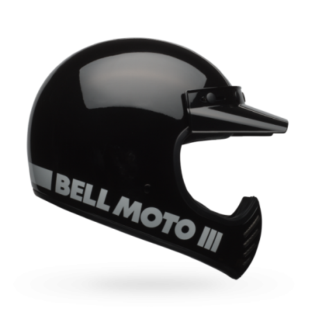Bell Helm Moto-3 - Classic Schwarz