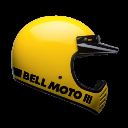 Bell Helm Moto-3 - Classic Gelb