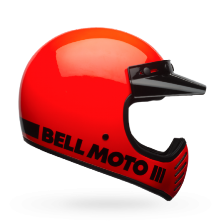 Bell Helm Moto-3 - Classic Flo Orange