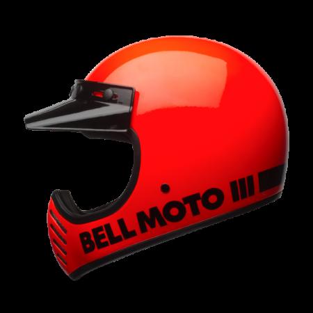 Bell Helm Moto-3 - Classic Flo Orange