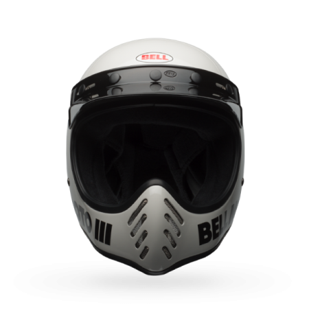 Bell Helmet Moto-3 - Classic White