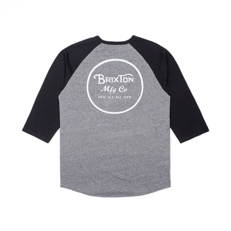 Brixton T-Shirt - Wheeler Black/Grey