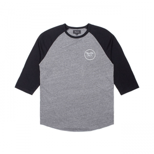 Brixton T-Shirt - Wheeler Black/Grey
