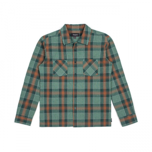 Brixton Shirt - Albert Green/Rost