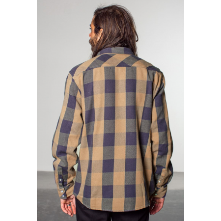 Brixton Shirt - Pickford Tan Plaid