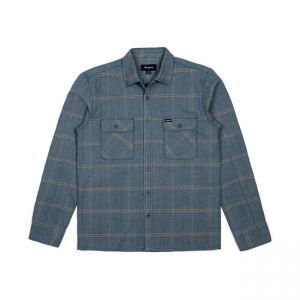 Brixton Shirt - Archie Green/Grey