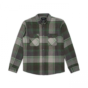 Brixton Shirt - Bowery Forest Green