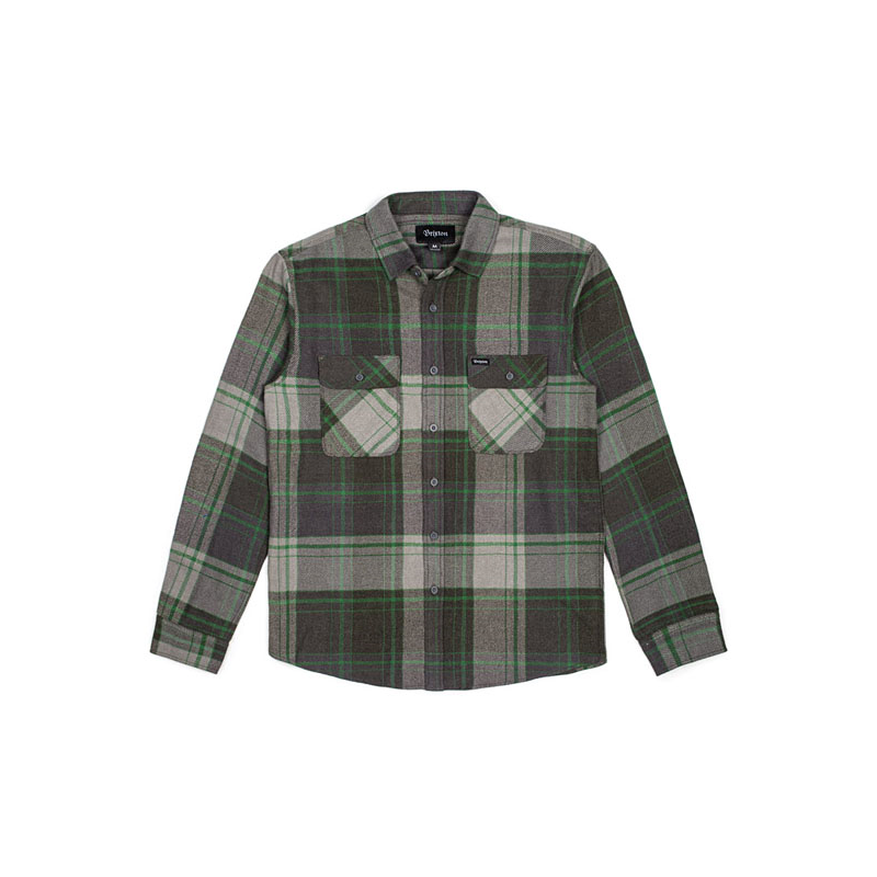 Brixton Shirt - Bowery Forest Green
