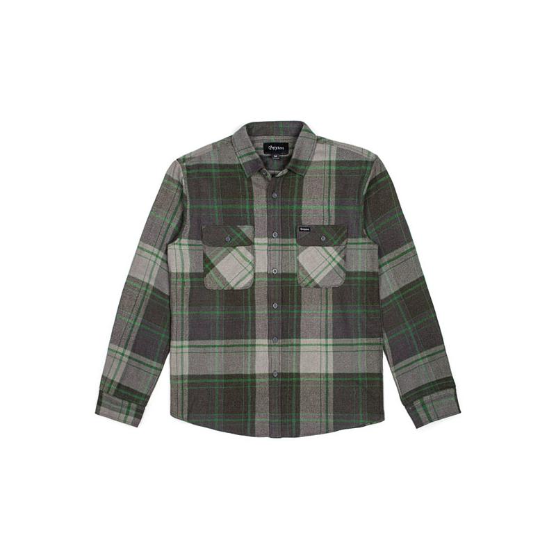 Brixton Shirt - Bowery Forest Grün