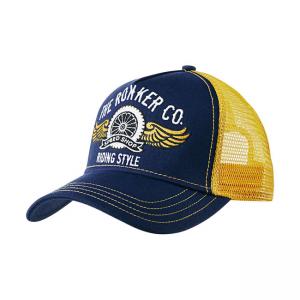 Rokker Cap - Trukker Riding Style Blau