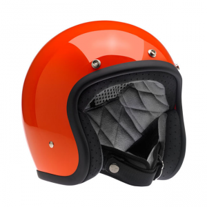 Biltwell Helm Bonanza - Hazard Orange
