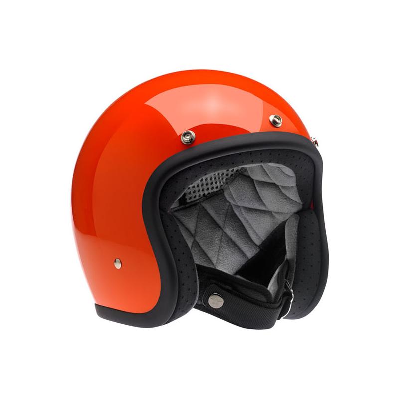 Biltwell Helm Bonanza - Hazard Orange