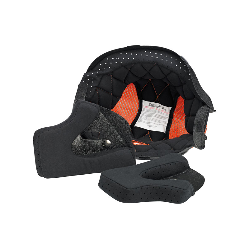 Biltwell Helmet Inner Liner - Gringo/Gringo S in Black/Orange
