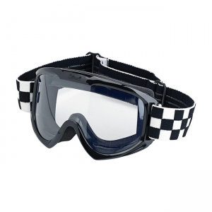 Biltwell Goggles - Moto Checkered