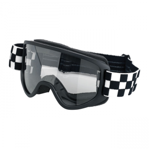 Biltwell Goggles - Moto 2.0 Checkers Black
