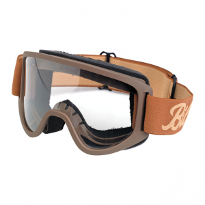 Biltwell Goggles - Moto 2.0 Script Chocolate