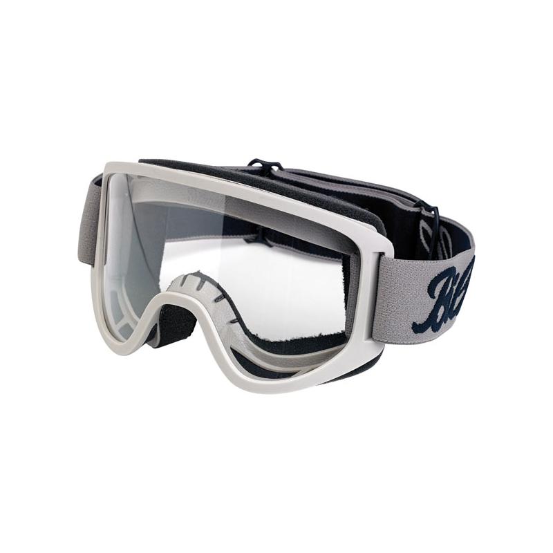 Biltwell Goggles - Moto 2.0 Script Titanium