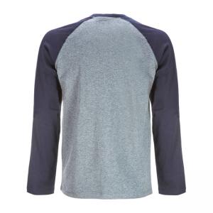 Dickies Langarmshirt - Baseball Grau Blau