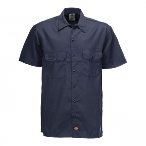 Dickies Shirt - Work Dark Blue