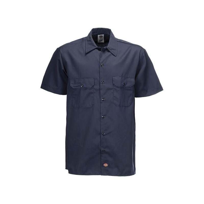 Dickies Shirt - Work Dark Blue