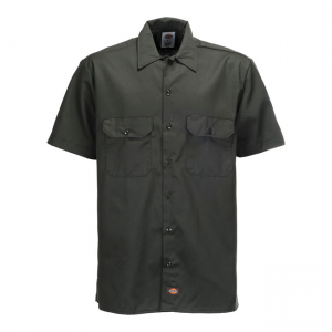 Dickies Shirt - Work Dark Olive