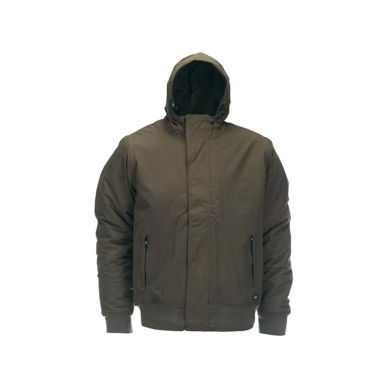 Dickies Jacket - Cornwell Zip Dark Olive