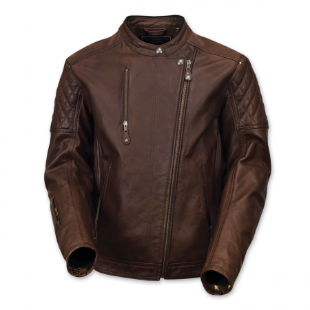 Roland Sands Leather Jacket - Clash Tobacco