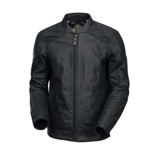 Roland Sands Leather Jacket - Carson Black