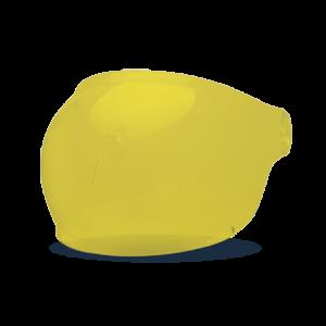 Bell Bubble Visier - Bullitt Gelb - schwarze Lasche