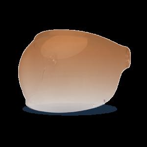 Bell Bubble Visier - Bullitt Amber Gradient - brauner Lasche