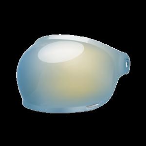 Bell Bubble Visier - Bullitt Gold Iridium - brauner Lasche