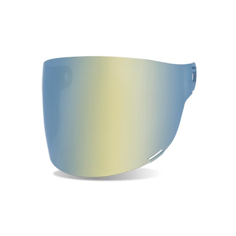 Bell Flat Visier - Bullitt Gold Iridium - schwarze Lasche